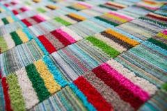 Kleurrijk Tafelkleed Stock Afbeeldingen