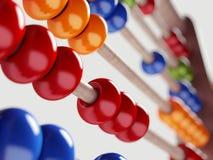 Kleurrijk telraam Stock Fotografie