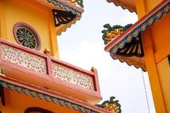 Kleurrijk tempeldetail Royalty-vrije Stock Afbeelding