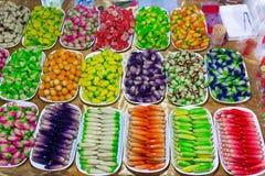 Kleurrijk Thais suikergoed Stock Afbeeldingen