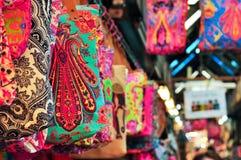 Kleurrijk Tote Bag Royalty-vrije Stock Foto