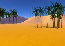 Kleurrijk tropisch landschap Royalty-vrije Stock Foto's