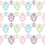 Kleurrijk uitstekend behang Stock Foto