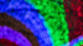 Kleurrijk vaag licht bokeh Royalty-vrije Stock Foto's