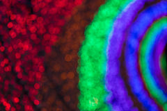Kleurrijk vaag licht bokeh Royalty-vrije Stock Fotografie