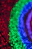 Kleurrijk vaag licht bokeh Stock Afbeelding