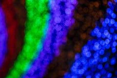 Kleurrijk vaag licht bokeh Stock Foto's