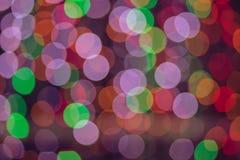 Kleurrijk van Bokeh 6 Royalty-vrije Stock Foto's