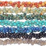 Kleurrijk van Chakra-steenarmbanden royalty-vrije stock foto