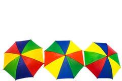Kleurrijk van paraplu Stock Foto's