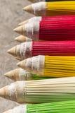 Kleurrijk van paraplu in Chiang Mai-markt Stock Afbeelding