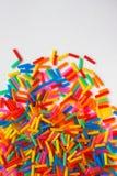 Kleurrijk van plastic buis Royalty-vrije Stock Afbeelding