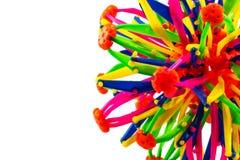 Kleurrijk van plastic stuk speelgoed Royalty-vrije Stock Afbeelding
