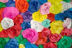 Kleurrijk van Roze stof royalty-vrije stock foto