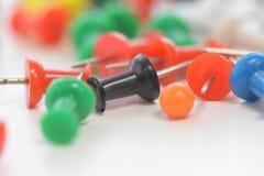 Kleurrijk van spelden Stock Afbeelding