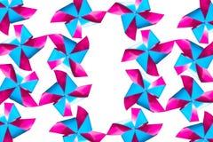Kleurrijk van windmolen Stock Fotografie