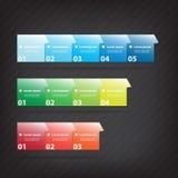 Kleurrijk vectorontwerp Stock Fotografie