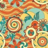 Kleurrijk vectorpatroon Royalty-vrije Stock Afbeelding