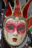 Kleurrijk Venetiaans Masker Stock Afbeelding