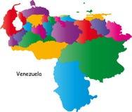 Kleurrijk Venezuela royalty-vrije illustratie
