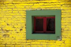 Kleurrijk venster Stock Afbeeldingen
