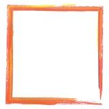 Kleurrijk verfeffect kader Stock Fotografie