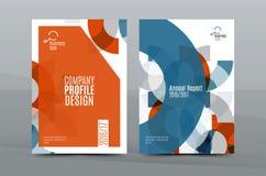 Kleurrijk vers bedrijfsa4 dekkingsmalplaatje - vlieger, brochure, boektijdschrift en jaarverslag vector illustratie