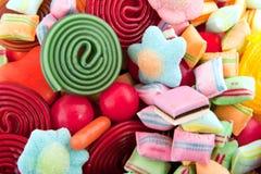 Kleurrijk verschillend suikergoed Royalty-vrije Stock Afbeelding