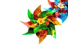 Kleurrijk Vuurrad Royalty-vrije Stock Foto's