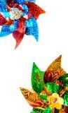 Kleurrijk Vuurrad Royalty-vrije Stock Afbeelding