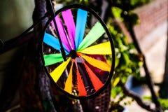 Kleurrijk vuurradstuk speelgoed Stock Afbeelding