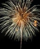 Kleurrijk vuurwerk Royalty-vrije Stock Afbeeldingen