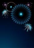 Kleurrijk vuurwerk Royalty-vrije Stock Fotografie