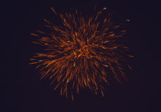 Kleurrijk vuurwerk Stock Fotografie
