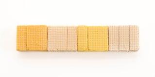 Kleurrijk wafeltje stock afbeelding