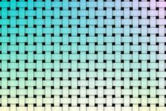 Kleurrijk weefselpatroon stock illustratie