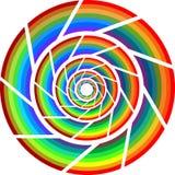 Kleurrijk wiel Stock Foto