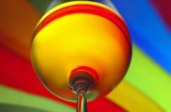 Kleurrijk wijnglas stock afbeeldingen
