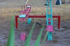 Kleurrijk zie Zagen Stock Foto's