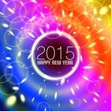 Kleurrijke 2015 Royalty-vrije Stock Fotografie