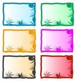 Kleurrijke aardachtergrond Stock Afbeelding