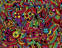 Kleurrijke Abstracte Achtergrond Royalty-vrije Stock Foto