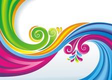 Kleurrijke abstracte achtergrond. Stock Fotografie