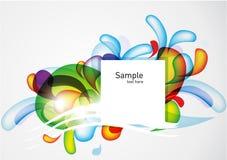 Kleurrijke abstracte achtergrond Stock Foto's