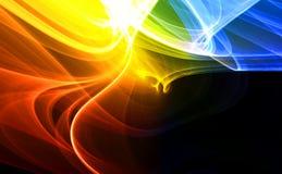 Kleurrijke abstracte achtergrond Stock Foto