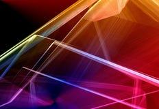 Kleurrijke abstracte achtergrond Stock Afbeelding