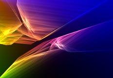 Kleurrijke abstracte achtergrond Royalty-vrije Stock Foto's