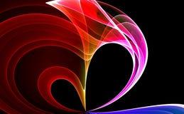 Kleurrijke abstracte achtergrond Stock Fotografie