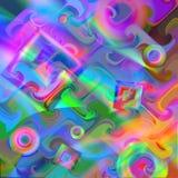 Kleurrijke abstracte achtergrond vector illustratie