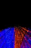 Kleurrijke abstracte achtergrond, die motieonduidelijk beeld van tunnel gebruiken ligh Stock Afbeelding